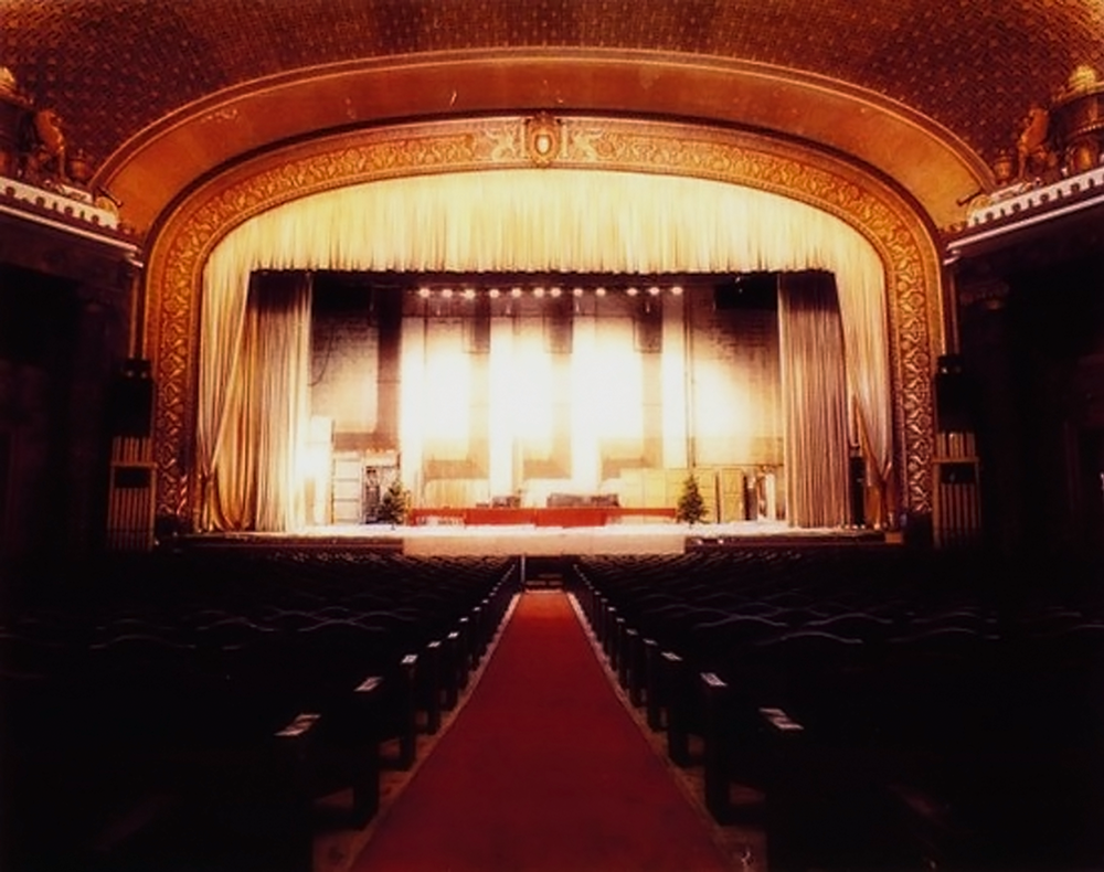 The Sarah Vaughn Concert Hall at Newark Symphony Hall. Photo courtesy of Newark Symphony Hall.