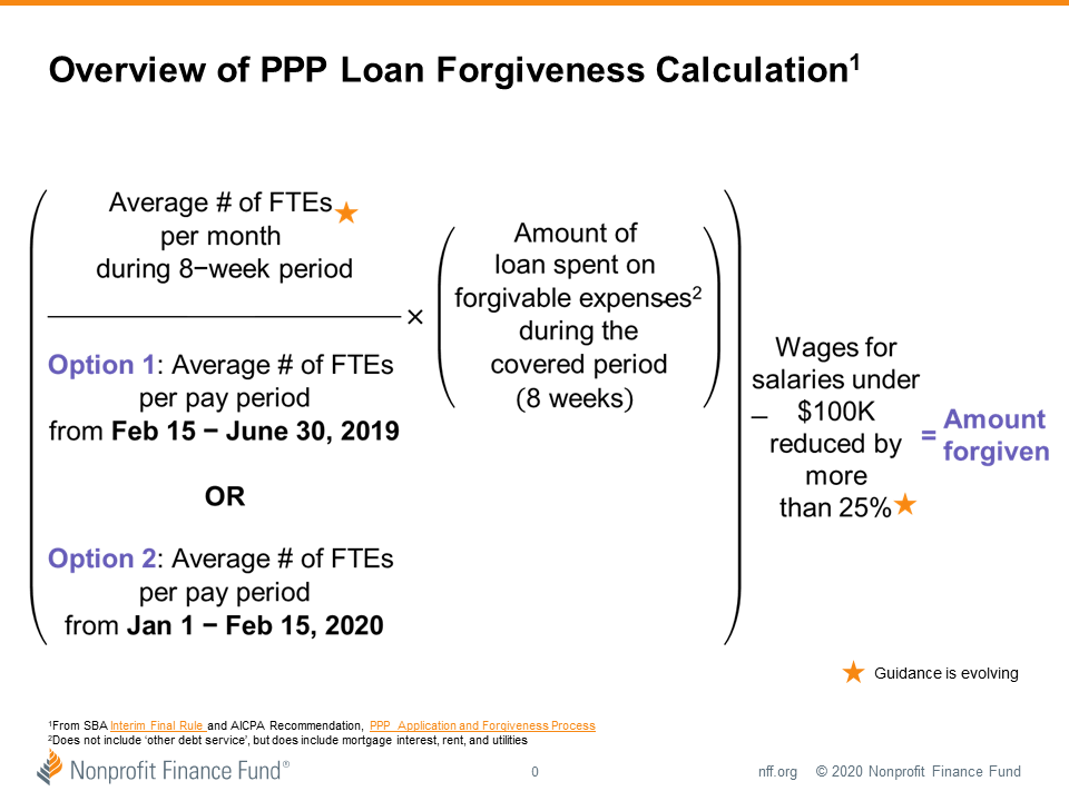 Overview of PPP Loan Forgiveness Calculation